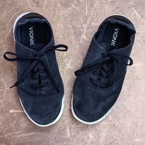 Vionic suede lace up sneakers